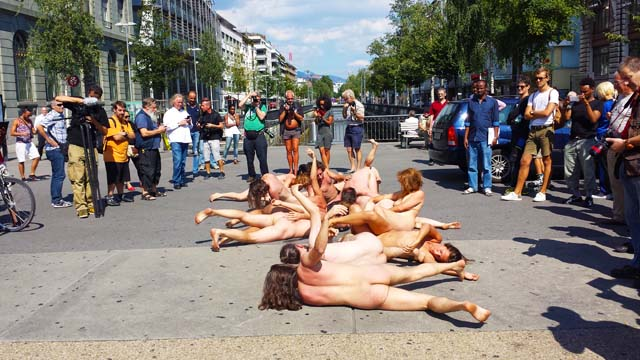 The Body and Freedom Festival, Naked Performance in Urban Space, Biel/Bienne, Switzerland, august 2015 for more images and videos: facebook.com/dunyabirmasaldir youtube.com/user/OzgurCagdas instagram.com/ozgur_cagdas/ twitter.com/Ozgur_Cagdas plus.google.com/+OzgurCagdas